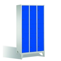 5-tier locker, 15 doors, 1850x900x500 mm