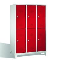 Förvaringsskåp, 6 dörrar, 1850x1200x500 mm