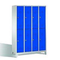 Förvaringsskåp, 8 dörrar, 1850x1190x500 mm