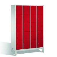Förvaringsskåp, 20 dörrar, 1850x1190x500 mm