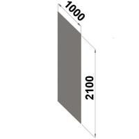 Ryggplåt 2100x1000