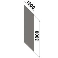 Ryggplåt 3000x1000