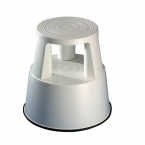 Plastic kickstool, light gray, Wedo
