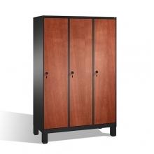 Skåp,3x400 MDF dörrar, 1850x1200x500