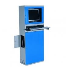 Datorskåp, 1630x300x500mm, plattskärm