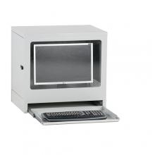 Computer cabinet 595x450x640 mm grey