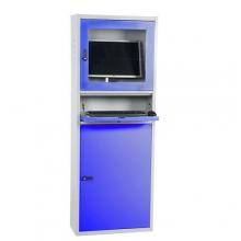 Computer cabinet 1730x280x640 mm grey/blue