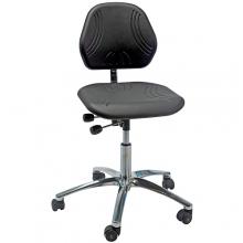 Arbetsstol Comfort ESD med hjul.