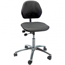 Chair Comfort ESD with castors low