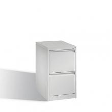 Arkivskåp, med 2 lådor, 733x433x590mm, RAL7035
