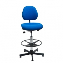 Chair Aktiv high with footring blue