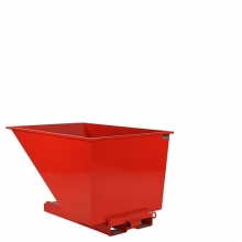 Tippcontainer 1100L röd