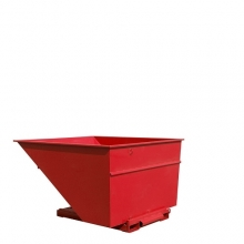 Tippcontainer 2500L röd