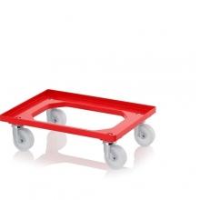 Backvagn, 620x420x100mm, Röd