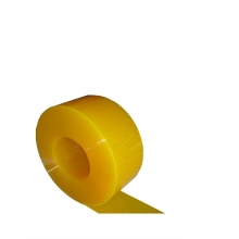PVC plastridå matt gul 2x200mm/meter