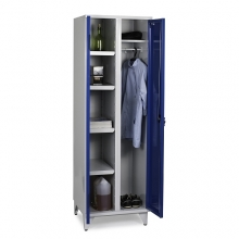 Storage Cabinet with 4 shelves and hanging rod 1900x800x545