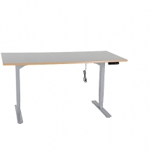 Worktable with electric legs, 1600x800mm/150kg, h=620-1270mm