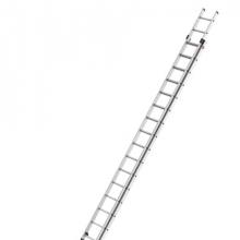 2-sektion extending ladder Prof 9,50m, 2x18 steg