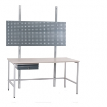Packing table set 1500x800, laminated  top