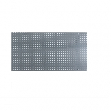 Perforated sheet 2000x600 zn, step 38 mm