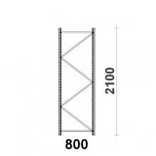 Hyllgavel 2100x800 mm MAXI