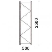 Hyllgavel 2500x500 mm MAXI