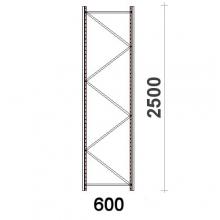Hyllgavel 2500x600 mm MAXI