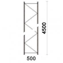 Hyllgavel 4500x500 mm MAXI