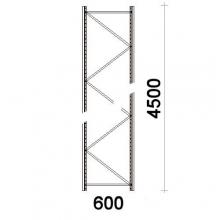 Hyllgavel 4500x600 mm MAXI