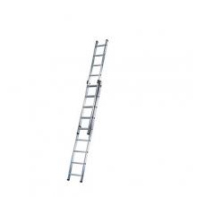 2-sektion ladder Prof 5,19m, 2x9 steg