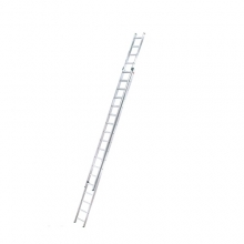 2-section extending ladder Prof 9,51m, 2x18 steps