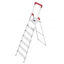 Trappstege, 7-steg, höjd 1500mm