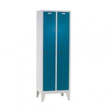Klädskåp, 2 dörrar, 1850x610x500mm