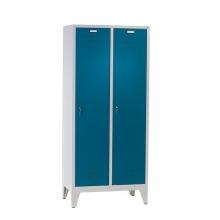 2 door locker with legs 1850x810x500