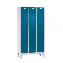 3 door locker with legs 1850x900x500