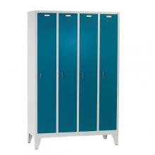 Klädskåp, 4 dörrar 1850x1190x500
