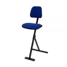 Ståstödstol, blå