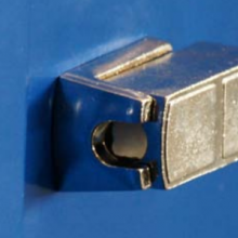 Padlock pin for clothing cabinet