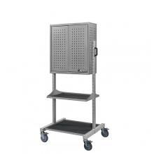 Workshop trolley with wheels 700x300x1800
