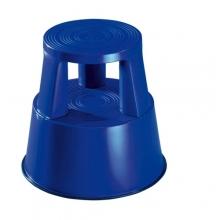 Stegpall, plast, blå