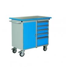 Arbetsstation med 5 lådor, 1025x600x900