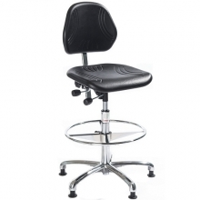 Chair Comfort ESD high with footring